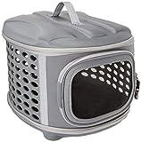 PET MAGASIN Transportador de Viaje para Gatos Perros - Acolchado y Plegable con Puertas de...