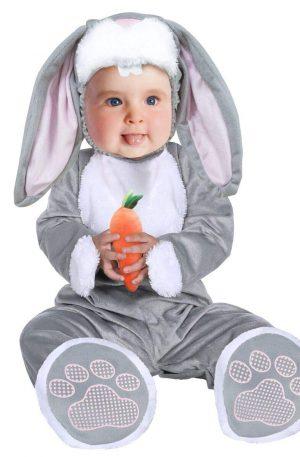 disfraz para bebés de conejo orejas largas