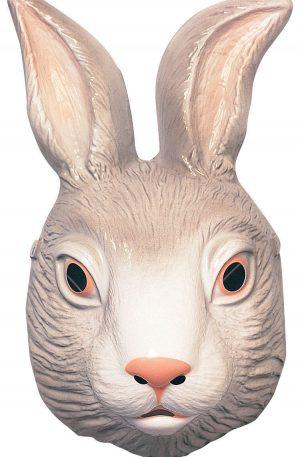 máscara de conejo blanco disfraz adulto