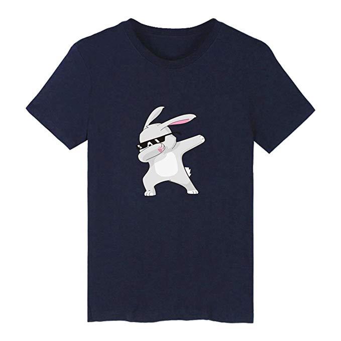 Camiseta Historieta Adorable Manga Corta T-Shirt Dab