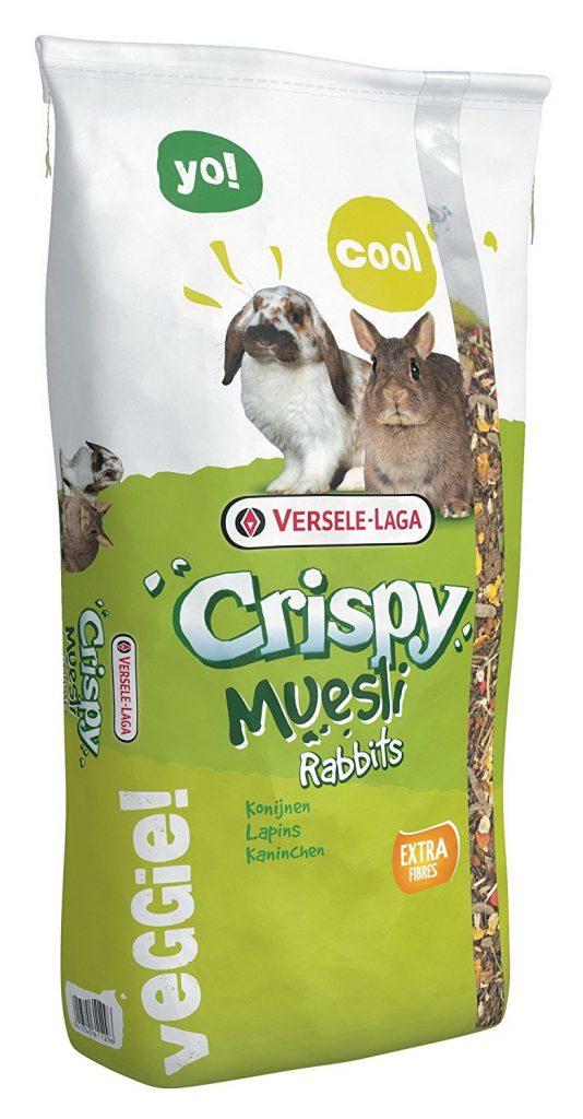 Comida para coneos marca Crispy Muesli 20kg