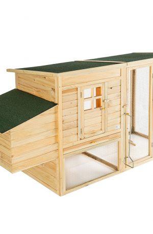 Jaula para conejos de madera casa establo