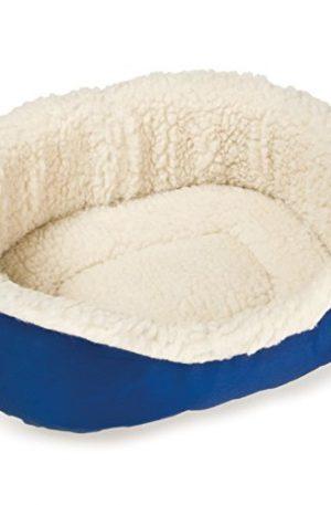 cama para mascotas tipo cuna y cojines acolchados