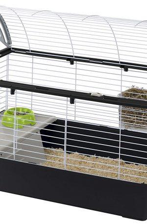 Jaula para conejos caseras ocupa poco espacio