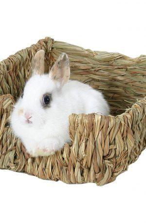 Nido de césped para conejos cama natural roedores