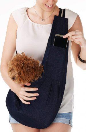 Pequeño Ajustable Portador Bolsa para Mascotas