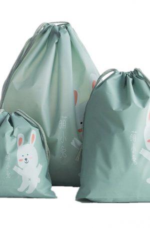 bolsas de almacenaje portátil de conejitos