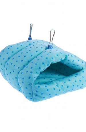 cama colgante tipo hamaca para animales pequeños y conejos cálida