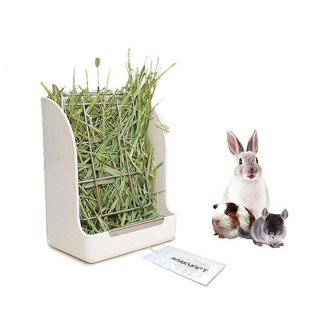dispensador de alfalfa para conejos comedero para jaulas