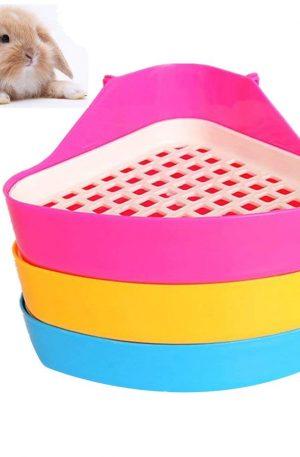 Bandeja de arena para mascotas, diseño de animales pequeños