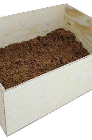 Caja de arena XL para conejos y liebres