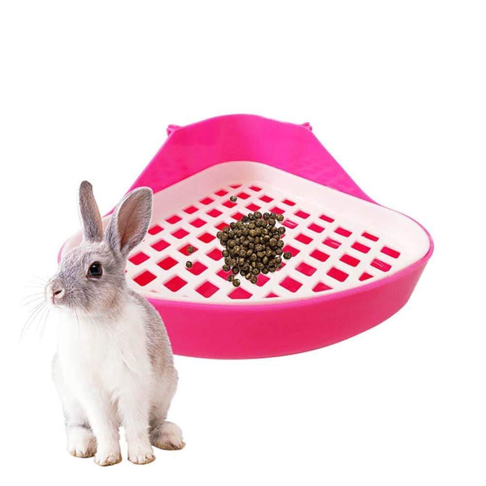 Cuenco para Inodoro para Mascotas, Bandeja de Orinal para pequeños Animales