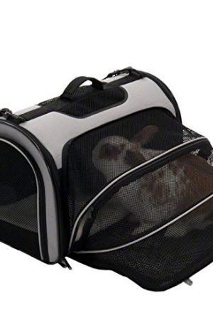 bolso con extensión para exteriores, conejos cómodos y animales pequeños