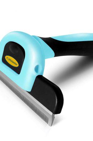 cepillo de aseo para perros, gatos, conejos pelo corto y largo color azul, rosa y amarillo