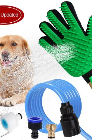 cepillo de ducha rociador de baño limpieza depurador para mascotas