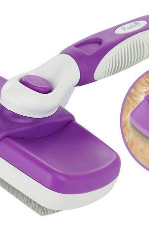 cepillo de limpieza para conejos, perros, gatos y caballos cerdas ergonómicas