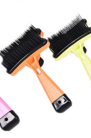 cepillos para conejos removedor de pelo y masajes relajantes