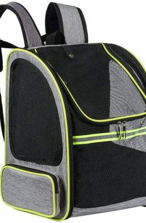 portador de viaje mochila para conejos transpotador malla completa