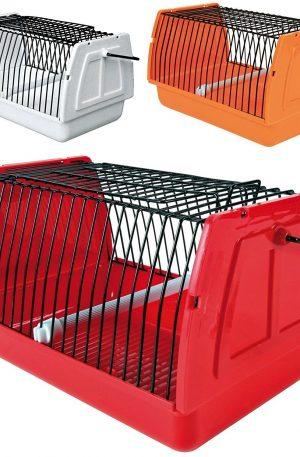 transportín para roedores y pájaros. Genial para conejos 22x15x14