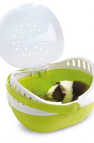 transportador para roedores con ventilación y cómodo de llevar