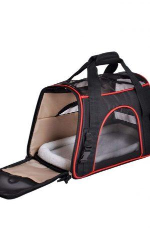 transportin de conejos, gatos y perros. PLegable suave y cómodo para mascotas Airline