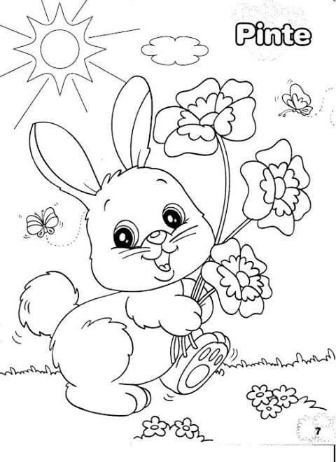 dibujos-de-conejos