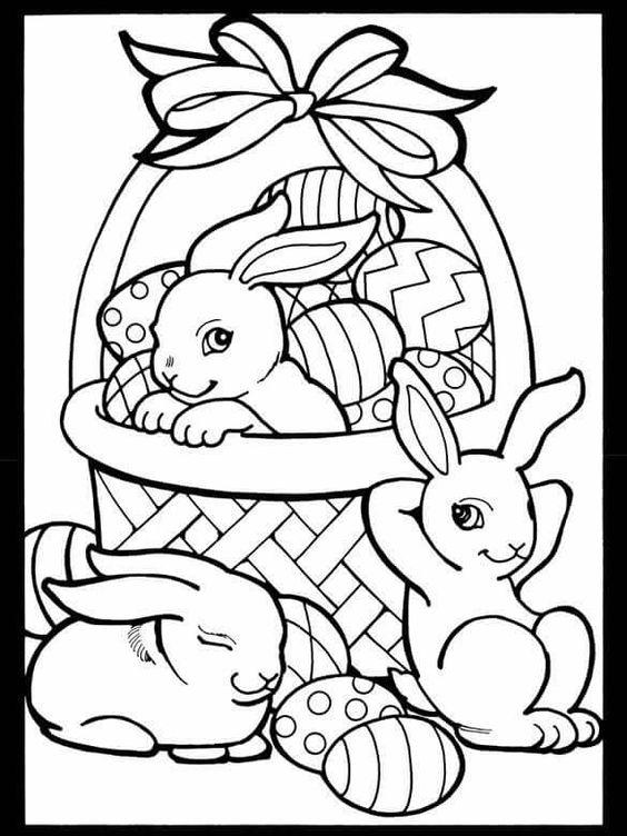 dibujos-de-conejos-con-huevos