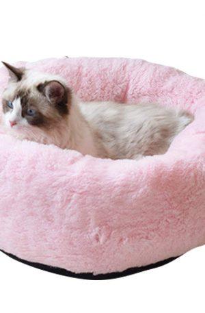 cama rosada para mascotas pequeñas