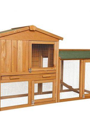 corral para animales casa de conejos grandes