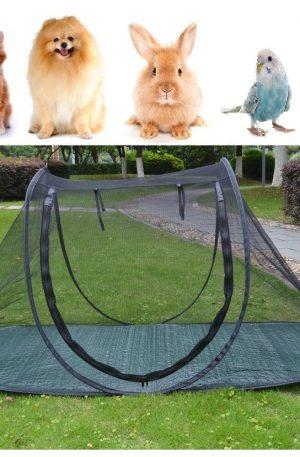jaula de juegos para mascotas ejercicio para conejos