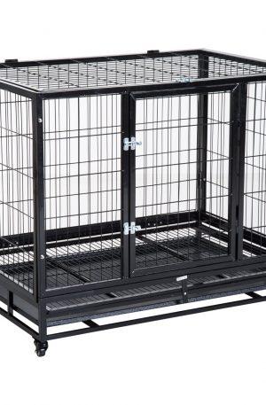 jaula de metal para conejos grandes bandeja extraíble