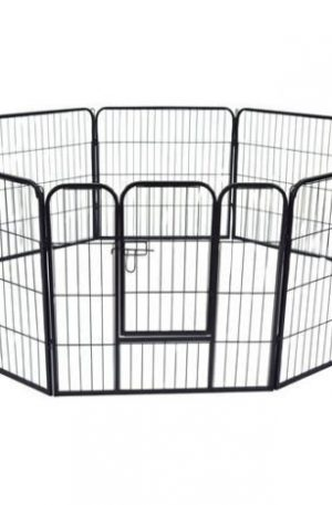 jaula para conejos exterior con vallas de metal