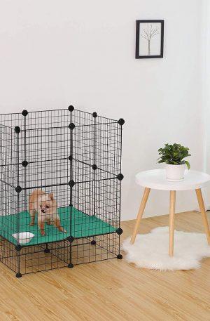 jaula para mascotas animales pequeños y grandes desmontable
