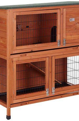 jaulas de madera para conejos grandes