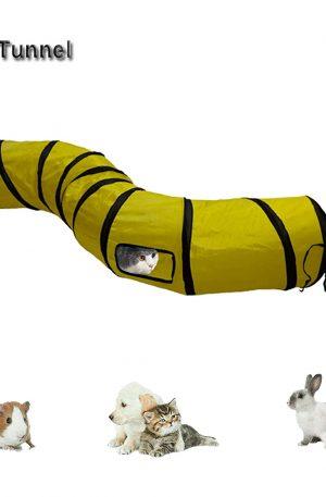 juegos de túneles plegable para conejos y mascotas