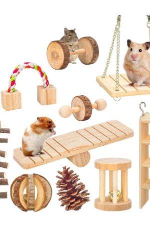 juegos para conejos de madera especiales para el ejercicio
