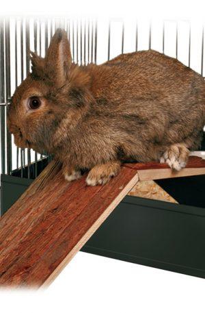 juguete puente para conejos adaptable a jaula