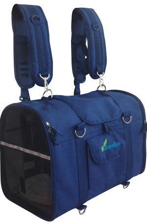 mochila portador para mascotas transportin delantero