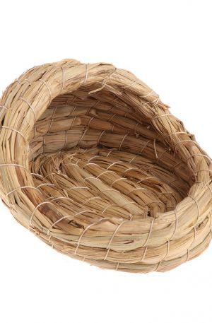 nidos para mascotas de paja natural animales pequeños