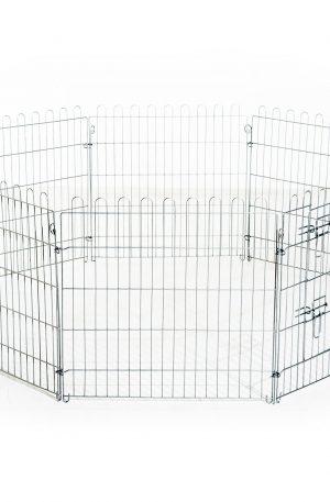 parque para conejos exterior jaula metálica