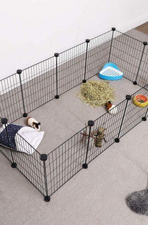 valla para animales malla metálica ajustable flexible