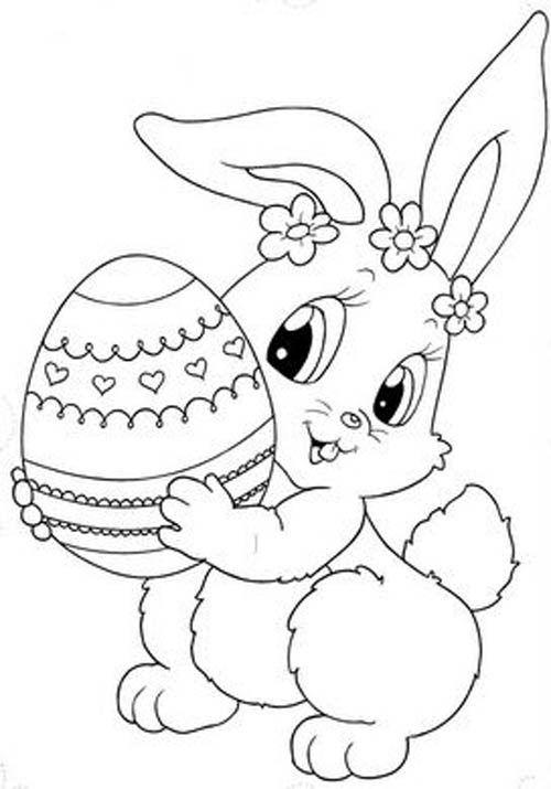 dibujos-de-conejos-pintar-huevo