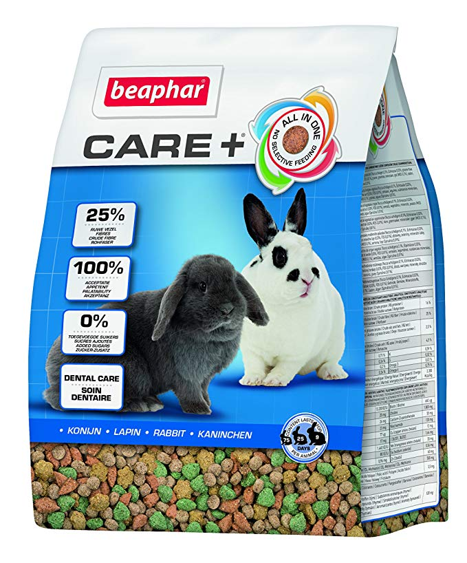 Pienso para conejos adultos de 9 meses de edad